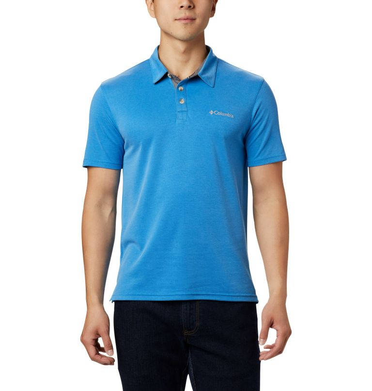 Nelson Point™ Polo | 463 | S Polo Nelson Point™ da uomo, Azure Blue, front