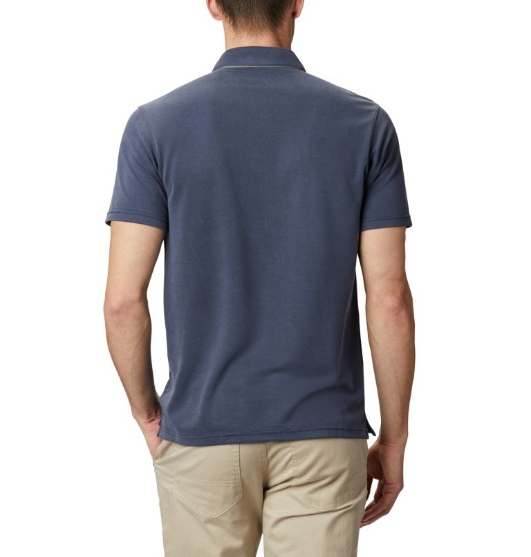 Nelson Point™ Polo | 464 | L Men's Nelson Point™ Polo, Collegiate Navy, back
