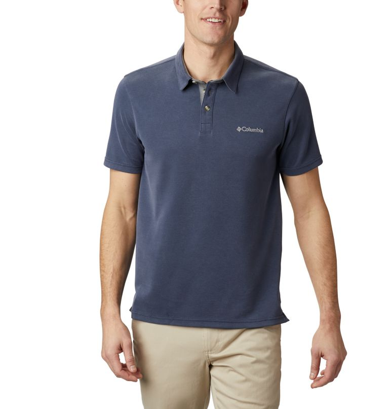 Nelson Point™ Polo | 464 | L Men's Nelson Point™ Polo, Collegiate Navy, front