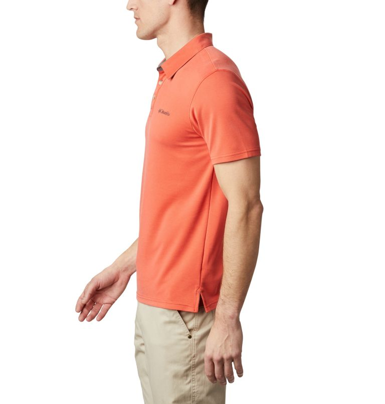 Nelson Point™ Polo | 845 | S Men's Nelson Point™ Polo, Wildfire, a1