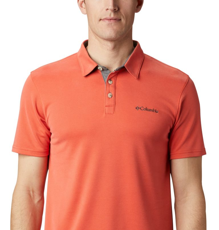 Nelson Point™ Polo | 845 | S Men's Nelson Point™ Polo, Wildfire, a2