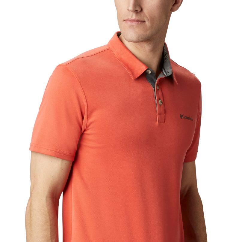 Nelson Point™ Polo | 845 | S Men's Nelson Point™ Polo, Wildfire, a3