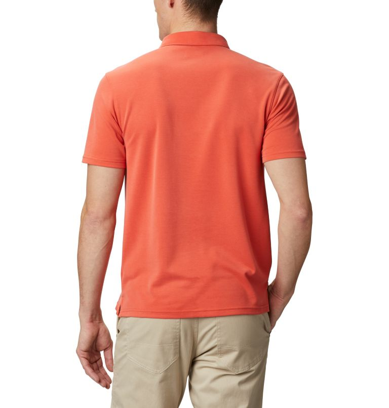 Nelson Point™ Polo | 845 | S Men's Nelson Point™ Polo, Wildfire, back