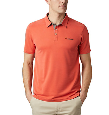 Men's Nelson Point™ Polo Nelson Point™ Polo | 441 | M, Wildfire, front