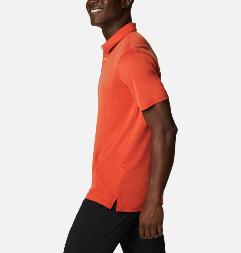 Nelson Point™ Polo | 846 | S Men's Nelson Point™ Polo, Bonfire, a1