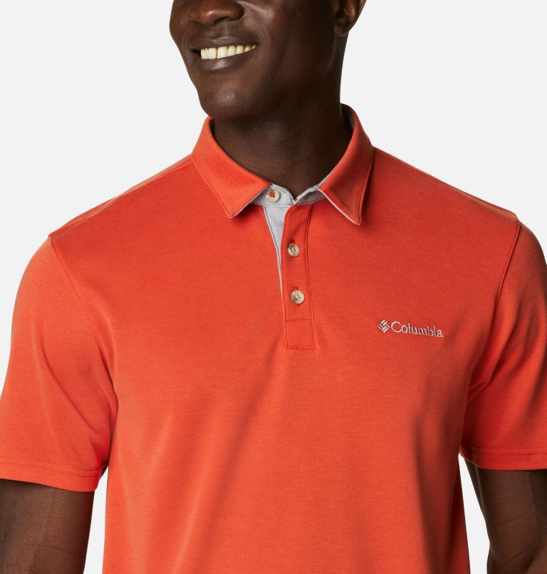 Nelson Point™ Polo | 846 | S Men's Nelson Point™ Polo, Bonfire, a2