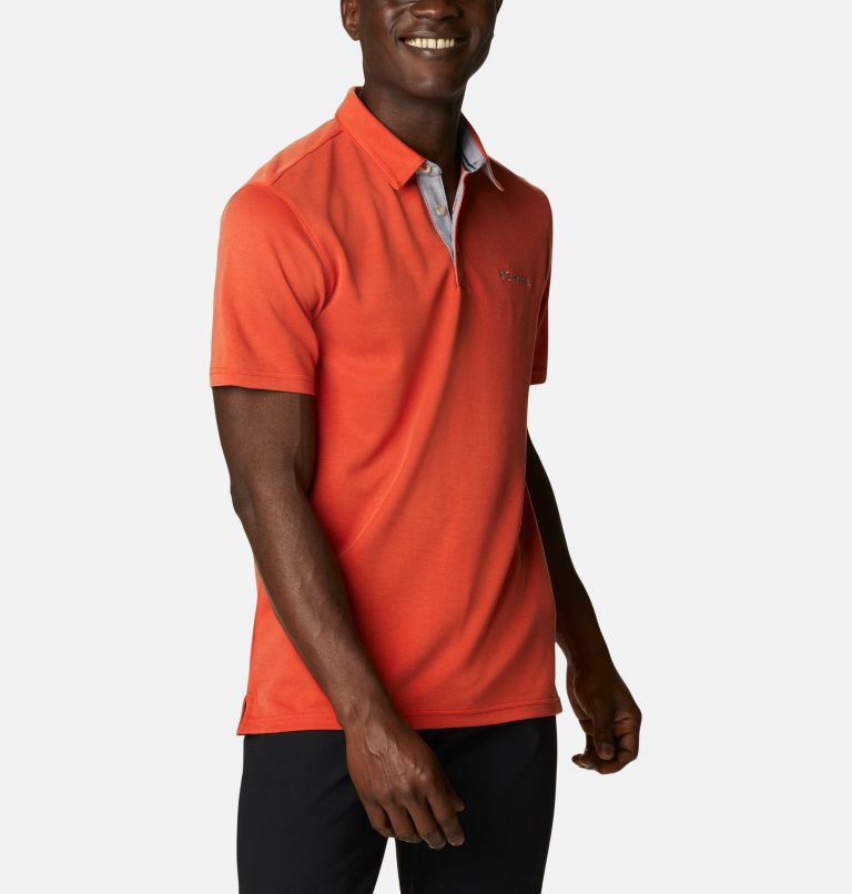 Nelson Point™ Polo | 846 | S Men's Nelson Point™ Polo, Bonfire, a3