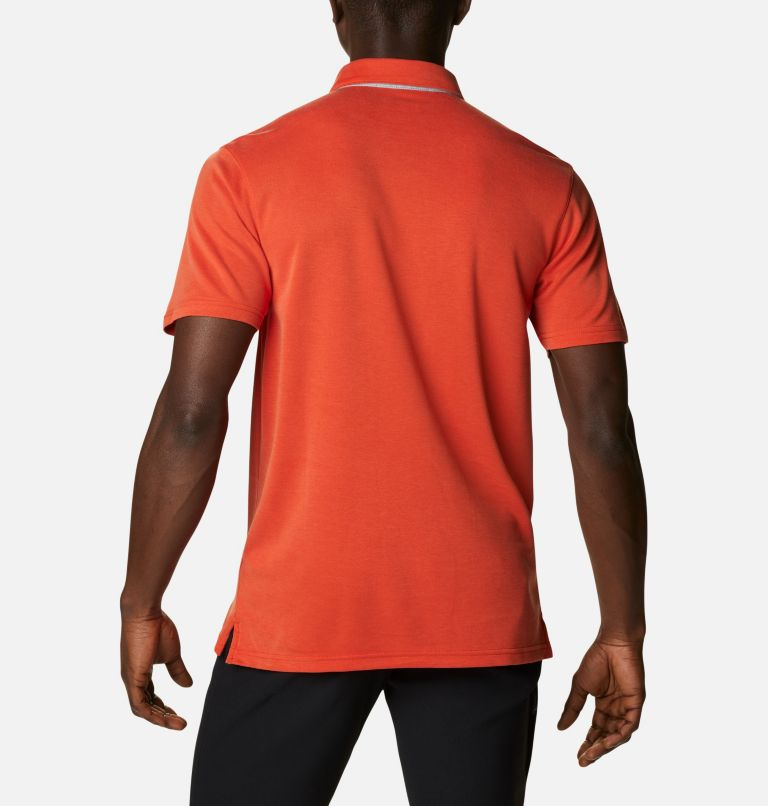 Nelson Point™ Polo | 846 | S Men's Nelson Point™ Polo, Bonfire, back