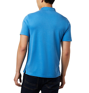 Polo Nelson Point™ Homme – Grandes tailles Nelson Point™ Polo | 464 | 6X, Azure Blue, back