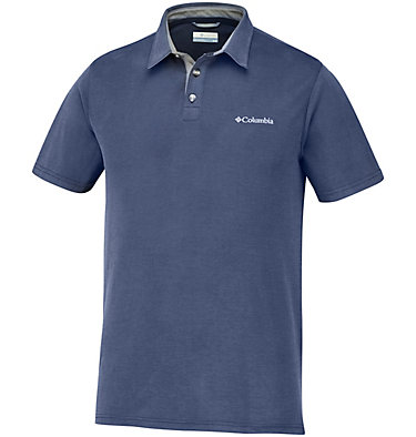 Polo Nelson Point™ Homme – Grandes tailles Nelson Point™ Polo | 464 | 6X, Collegiate Navy, front