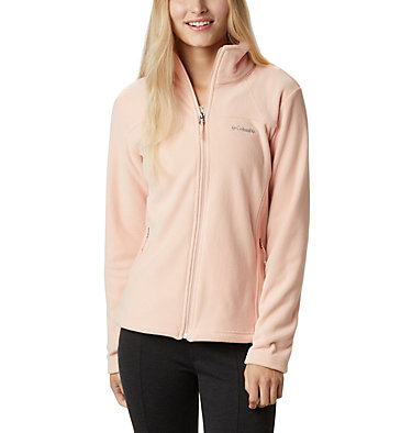 Women's Fast Trek™ II Lightweight Fleece Fast Trek™ Light Full Zip | 847 | L, Peach Cloud, front
