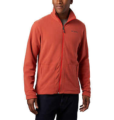 Men's Fast Trek™ II Microfleece Full Zip Fleece Fast Trek™ Light Full Zip Flee | 010 | XL, Carnelian Red, front