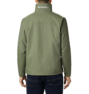Men's Bradley Peak™ Rain Jacket Bradley Peak™ Jacket | 696 | S, Cypress, back