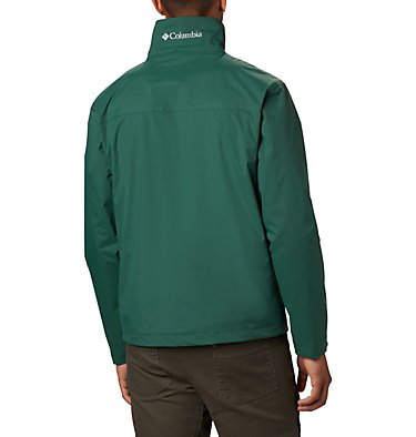 Men's Bradley Peak™ Rain Jacket Bradley Peak™ Jacket | 696 | S, Rain Forest, back