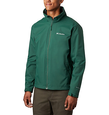 Men's Bradley Peak™ Rain Jacket Bradley Peak™ Jacket | 696 | S, Rain Forest, front