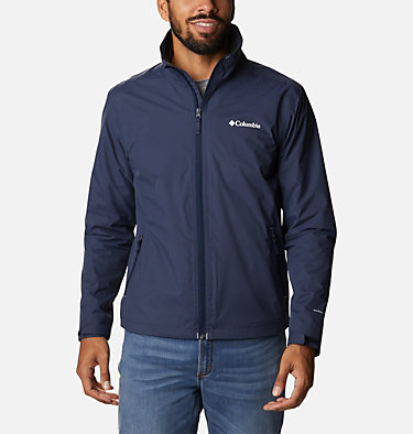 Men's Bradley Peak™ Rain Jacket Bradley Peak™ Jacket | 696 | S, Collegiate Navy, front
