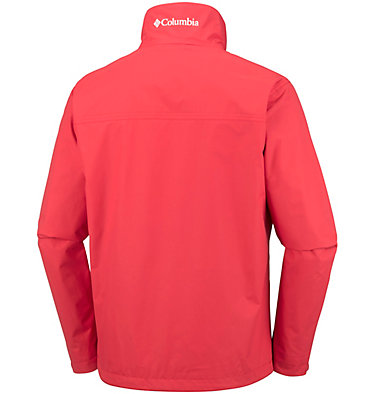 Men's Bradley Peak™ Rain Jacket Bradley Peak™ Jacket | 696 | S, Red Spark, back