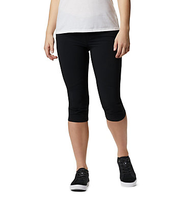 Pantalon Longueur Genoux Peak to Point™ Femme Peak to Point™ Knee Pant | 022 | 10, Black, front