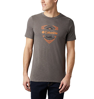 Men's Nelson Point™ Graphic T-Shirt Nelson Point™ Graphic Short Sleeve Tee | 845 | L, City Grey, front
