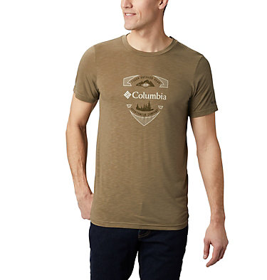Men's Nelson Point™ Graphic T-Shirt Nelson Point™ Graphic Short Sleeve Tee | 845 | L, Sage, front