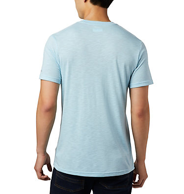 Men's Nelson Point™ Graphic T-Shirt Nelson Point™ Graphic Short Sleeve Tee | 845 | L, Sky Blue, back