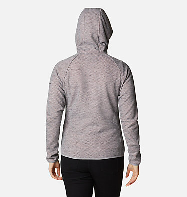 Pacific Point™ Hoodie mit durchgehendem Reißverschluss für Damen Pacific Point™ Full Zip Hoodie | 024 | L, City Grey Heather, Peach Cloud, back