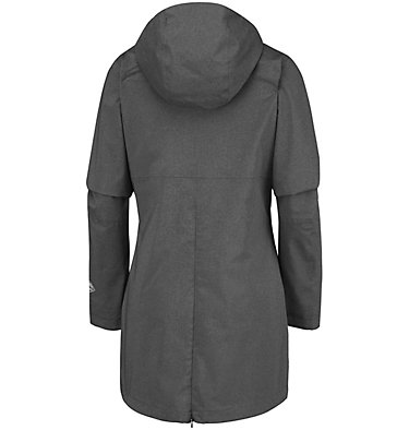 Women's Rainy Creek™ Waterproof Jacket Rainy Creek™ Trench | 466 | L, Black Heather, back