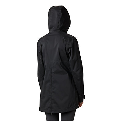 Women's Rainy Creek™ Waterproof Jacket Rainy Creek™ Trench | 466 | L, Black, back