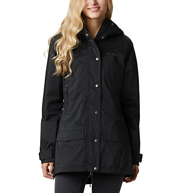 Women's Rainy Creek™ Waterproof Jacket Rainy Creek™ Trench | 466 | L, Black, front