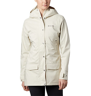 Women's Rainy Creek™ Waterproof Jacket Rainy Creek™ Trench | 466 | L, Stone, front