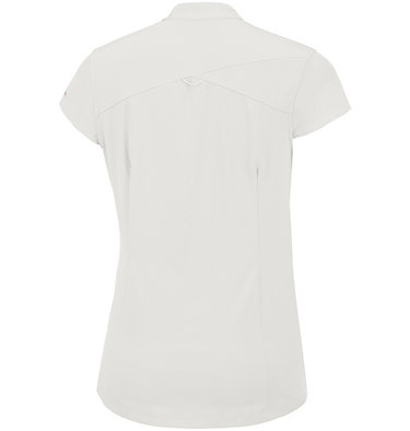 Saturday Trail™ kurzärmlige Bluse aus Stretchmaterial für Damen Saturday Trail™ Stretch SS Shi | 550 | XS, White, back