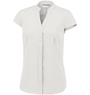 Saturday Trail™ kurzärmlige Bluse aus Stretchmaterial für Damen Saturday Trail™ Stretch SS Shi | 550 | XS, White, front