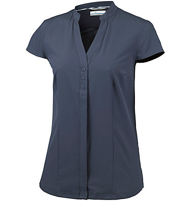 Saturday Trail™ kurzärmlige Bluse aus Stretchmaterial für Damen Saturday Trail™ Stretch SS Shi | 550 | XS, Nocturnal, front