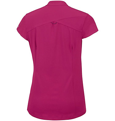 Saturday Trail™ kurzärmlige Bluse aus Stretchmaterial für Damen Saturday Trail™ Stretch SS Shi | 550 | XS, Wine Berry, back