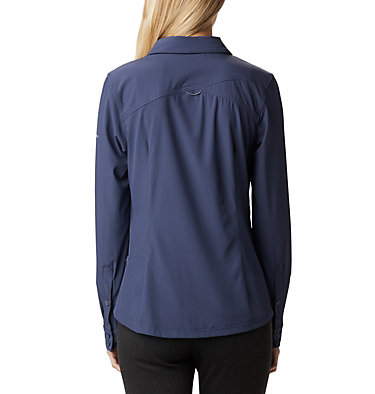 Saturday Trail™ langärmlige Bluse aus Stretchmaterial für Damen Saturday Trail™ Stretch LS Shi | 466 | L, Nocturnal, back