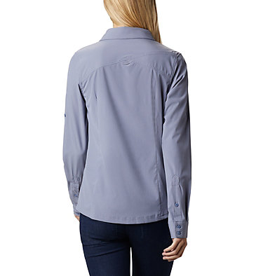 Saturday Trail™ langärmlige Bluse aus Stretchmaterial für Damen Saturday Trail™ Stretch LS Shi | 466 | L, New Moon, back