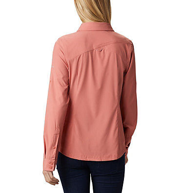 Saturday Trail™ langärmlige Bluse aus Stretchmaterial für Damen Saturday Trail™ Stretch LS Shi | 466 | L, Dark Coral, back