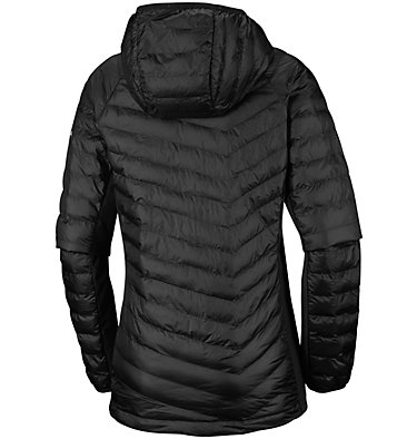 Powder Lite™ Hybrid-Kapuzenjacke für Damen Powder Pass™ Hooded Jacket | 010 | XS, Black, back