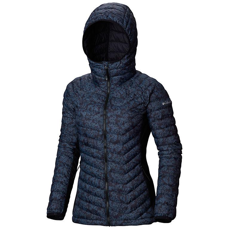 $59.98 ( 原价 $120 ) + 包邮【Columbia Sportswear】女款 Powder Pass™ 连帽羽绒服