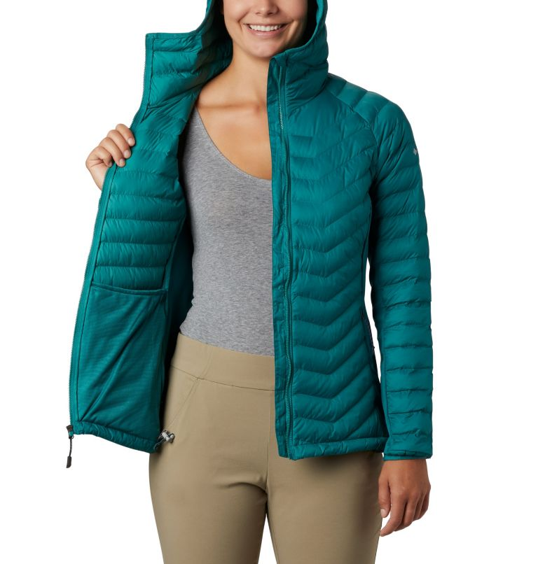 Women's Powder Lite™ Hybrid Hooded Jacket Women's Powder Lite™ Hybrid Hooded Jacket, a3