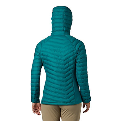 Powder Lite™ Hybrid-Kapuzenjacke für Damen Powder Pass™ Hooded Jacket | 010 | XS, Waterfall, back