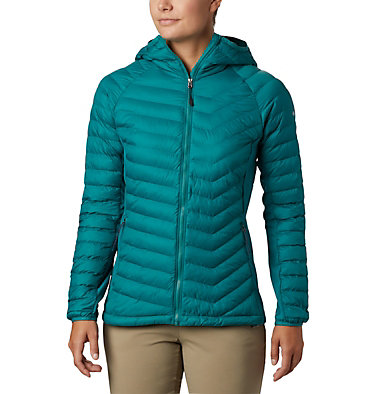Women's Powder Lite™ Hybrid Hooded Jacket Powder Pass™ Hooded Jacket | 010 | XS, Waterfall, front