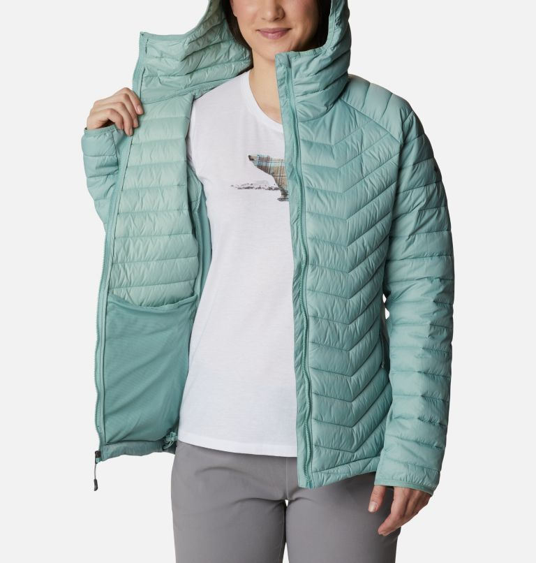 Chaqueta híbrida con capucha Powder Pass™ para mujer Chaqueta híbrida con capucha Powder Pass™ para mujer, a3