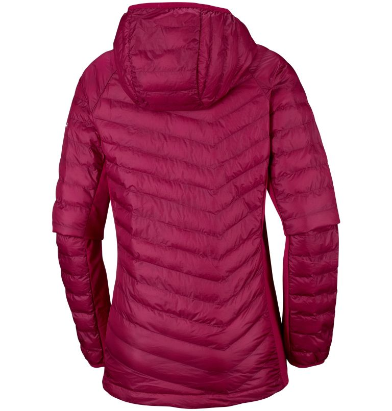 Women's Powder Lite™ Hybrid Hooded Jacket Women's Powder Lite™ Hybrid Hooded Jacket, back