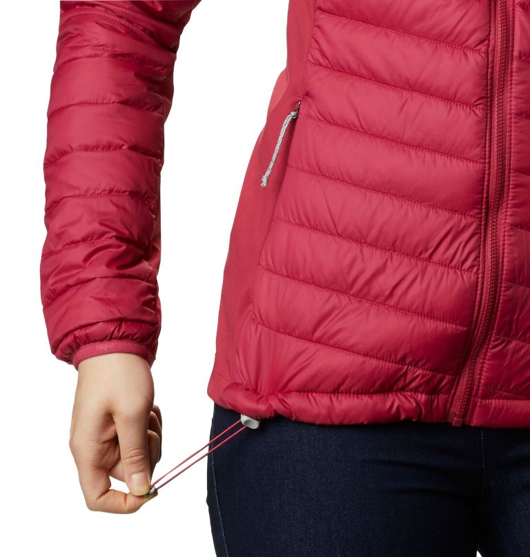 Women's Powder Pass™ Hybrid Hooded Jacket Women's Powder Pass™ Hybrid Hooded Jacket, a4