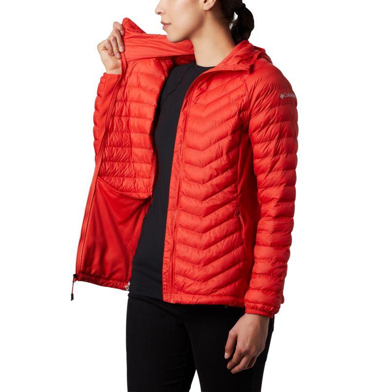 Chaqueta híbrida con capucha Powder Lite™ para mujer Chaqueta híbrida con capucha Powder Lite™ para mujer, a2