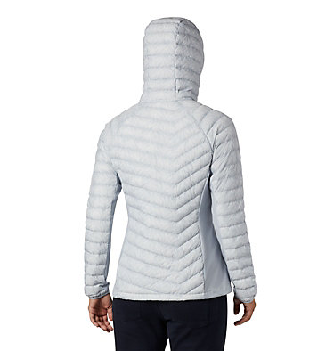 Women's Powder Pass™ Hooded Jacket Powder Pass™ Hooded Jacket | 469 | XS, Cirrus Grey Ferny Ferns Print, back