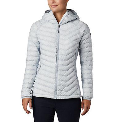 Women's Powder Pass™ Hooded Jacket Powder Pass™ Hooded Jacket | 469 | XS, Cirrus Grey Ferny Ferns Print, front