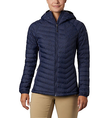 Women's Powder Pass™ Hooded Jacket Powder Pass™ Hooded Jacket | 469 | XS, Nocturnal Ferny Ferns Print, front