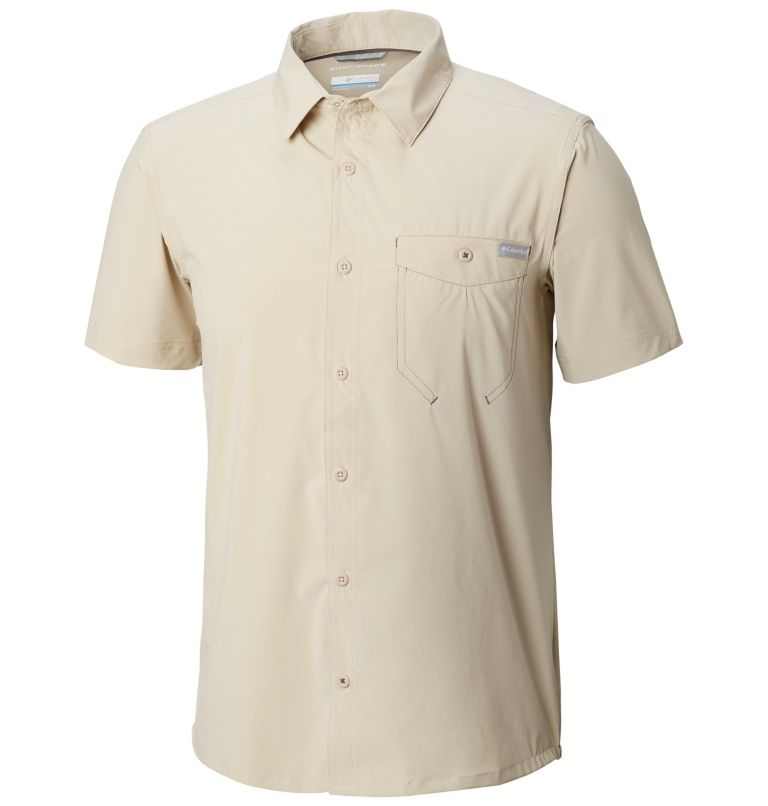 Men's Triple Canyon™ Solid Short Sleeve Shirt Men's Triple Canyon™ Solid Short Sleeve Shirt, front
